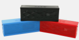 Wireless Bluetooth Box Speaker - Share music, games, movies, phone and conference calls anywhere you go