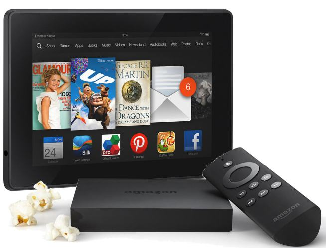 Amazon Fire TV and Kindle Fire HDX 7%22 16GB