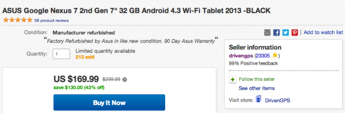 Asus Google Nexus 7-2nd gen-32GB-1080p-Refurb-2013-sale-01