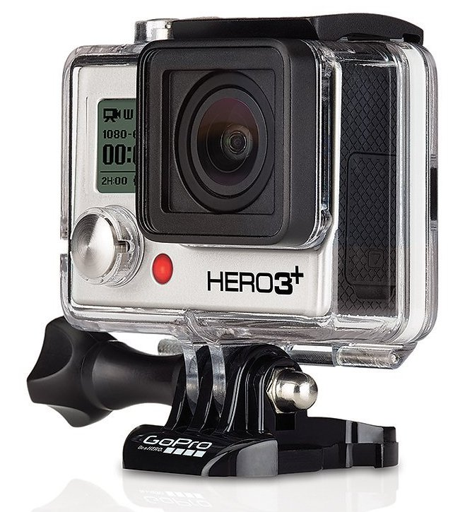 GoPro Hero3+ Black Edition Camera & Free 16GB Memory