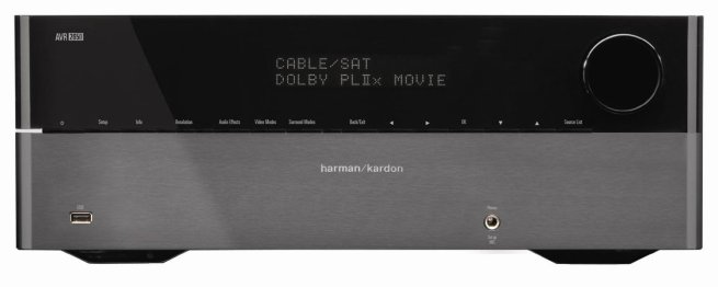 Harman Kardon AVR 2650 7.1 Channel 95-Watt Audio:Video Receiver with HDMI v.1.4a, 3-D, Deep Color and Audio Return Channel