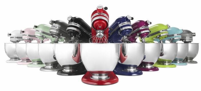 KitchenAid Artisan Series All Metal 5 Qt. Tilt Head Stand Mixer Many Colors