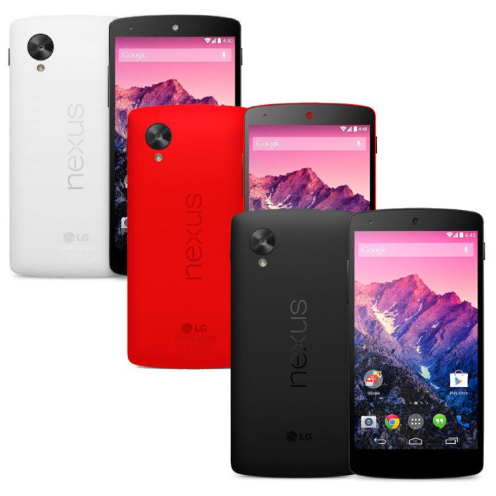 LG Google Nexus 5 32GB unlocked gsm black, red, white smartphone