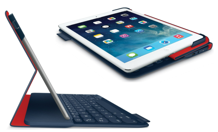 Logitech Ultrathin Portfolio Bluetooth iPad Air keyboard case $50 shipped (Reg. $100)