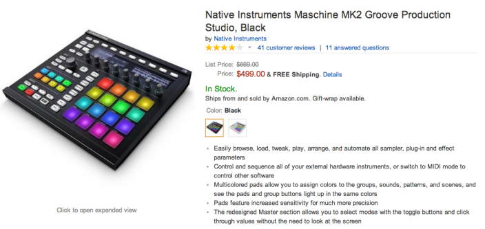 Native Instruments Maschine (MK2)-sale-03