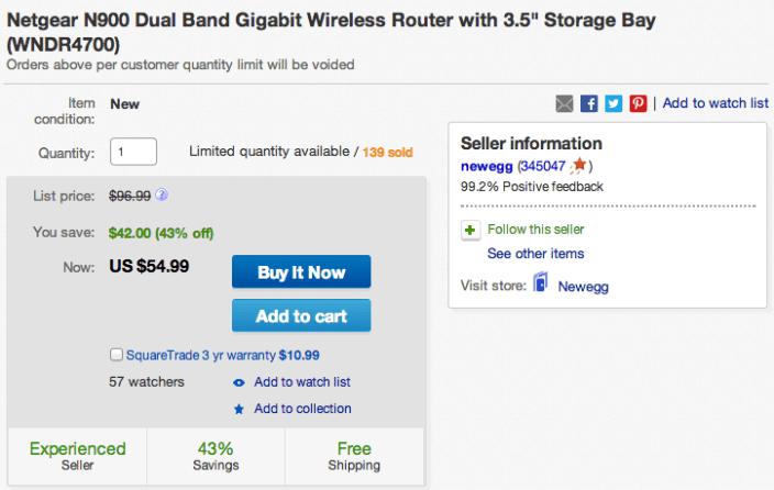Netgear Centria N900 Dual-Band Gigabit Wireless Router-model WNDR4700-sale-02