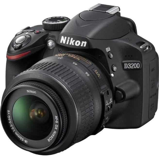 Nikon D3200 Digital SLR Camera with Adobe Light Room 5 Refurbished
