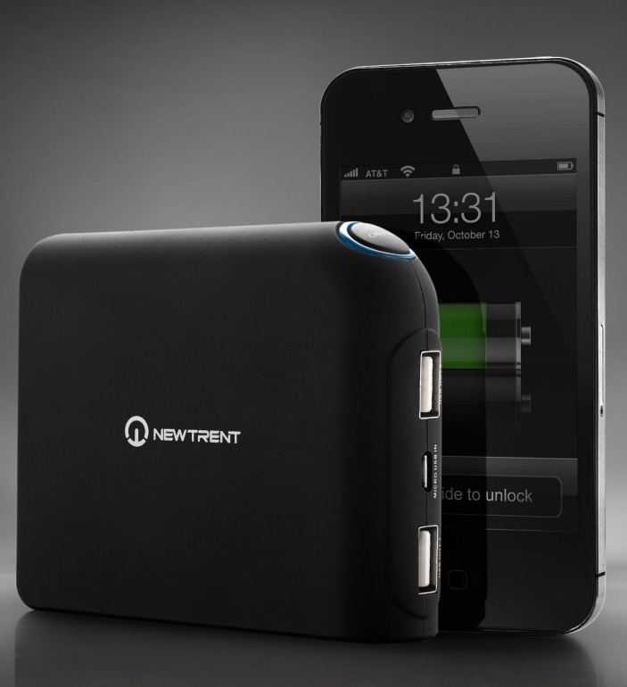 New Trent Travelpak Plus External Charger For Smartphones