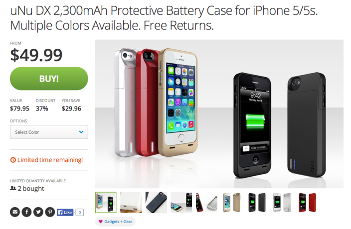 uNu Power DX External Protective Battery Case-iPhone 5s-sale-05