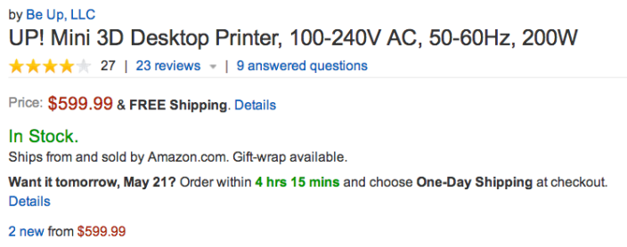 UP-mini-3D-printer-amazon