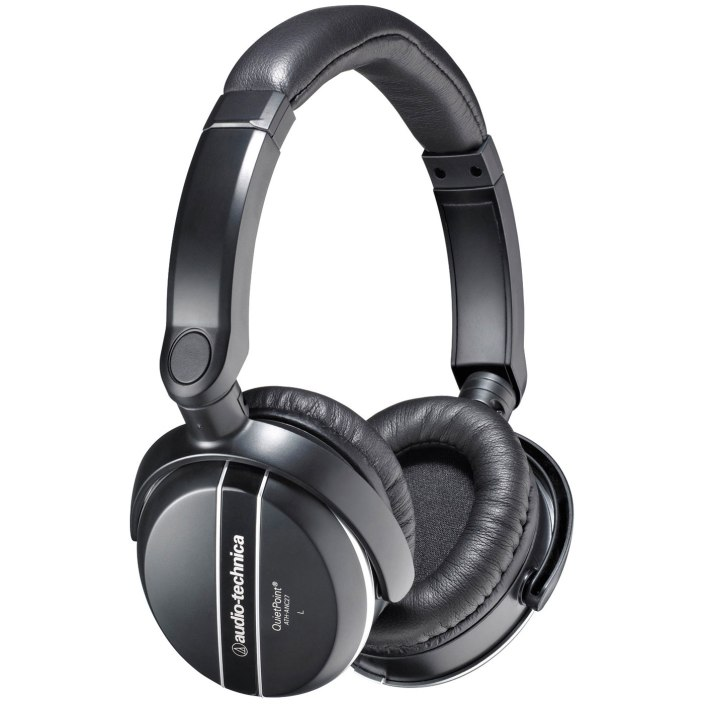 Audio Technica (ATH-ANC27) noise canceling over-ear headphones-sale-01
