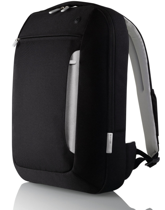 BELKIN Black:Light Gray 15.4%22 Slim Backpack