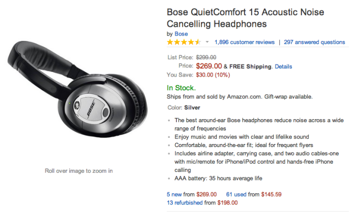 Bose QuietComfort 15 Acoustic Noise Cancelling Headphones-sale-01