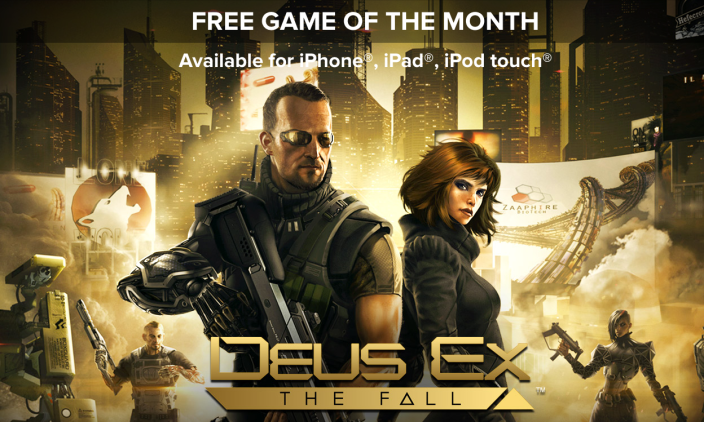 Free Game of the Month Deus Ex The Fall-01