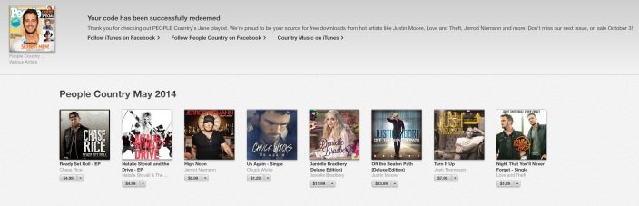 free-itunes-country-music