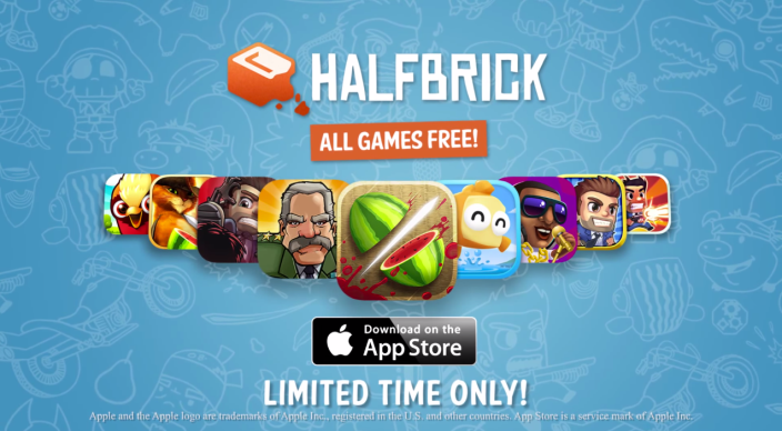 Halfbrick-iOS sale-FREE-Fruit Ninja-more