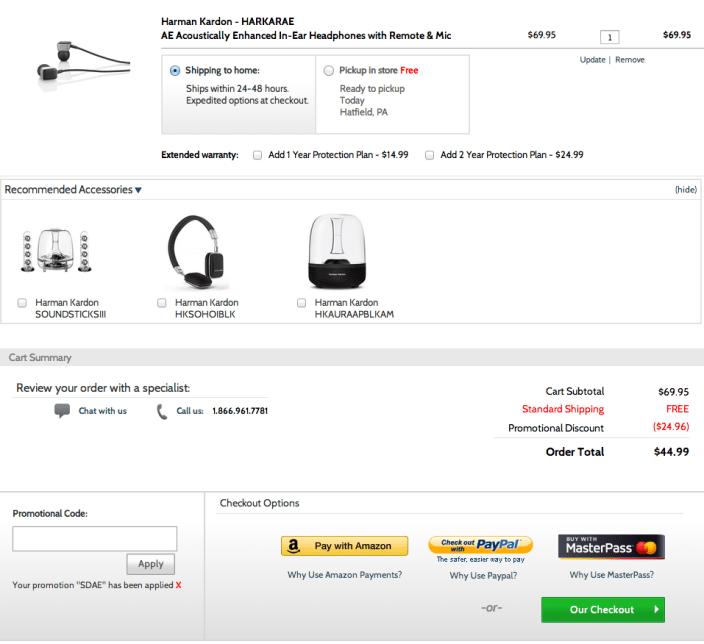 Harman Kardon AE Acoustically Enhanced In-Ear Headphones-sale-02