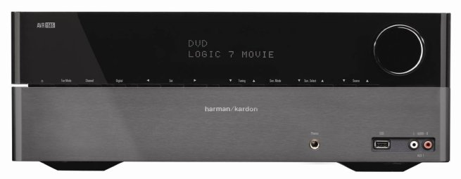 Harman Kardon AVR 1565 5.1-channel, 70-Watt Audio:Video Receiver with HDMI v.1.4a ,3-D