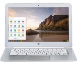 HP 14-Q063CL 14%22 Chromebook, HSPA+ with Free 2 Years 4G, HD BrightView LED-backlit, Intel Celeron 2955U, 32GB SSD, 4GB DDR3, 2x2 802.11n, Chrome OS - Snow White