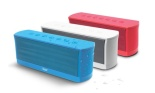 iLuv Splash-Resistant Stereo Bluetooth Speaker with Mic and Controls
