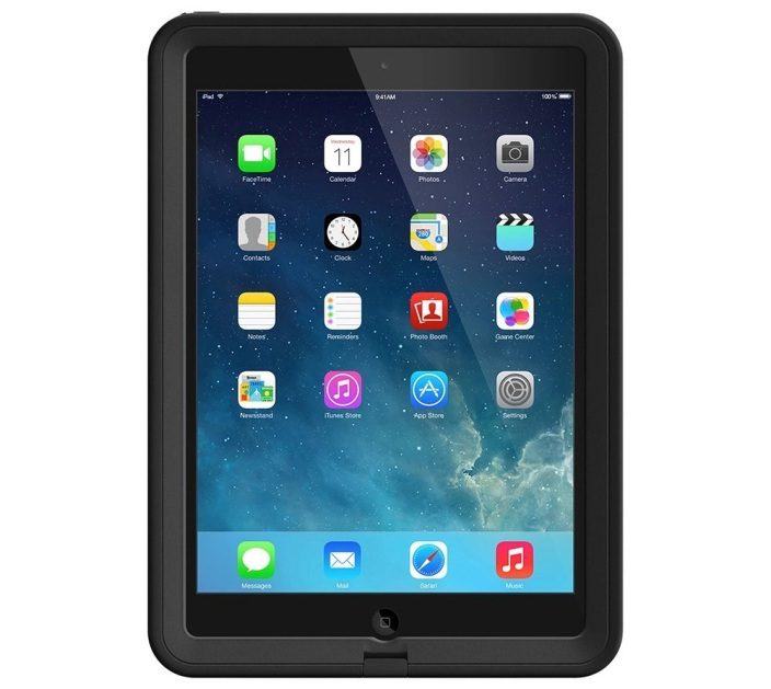 LifeProof Fre Case Cover-iPad Air-Black-sale-01