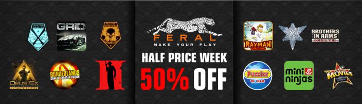 Mac Game Store-Feral Sale