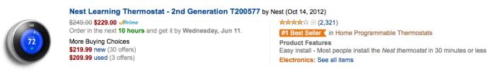 nest-thermostat-second-gen-amazon-deal