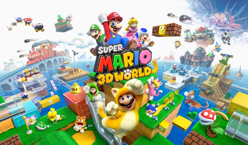 Nintendo-super-mario-3d-world-Target Sale