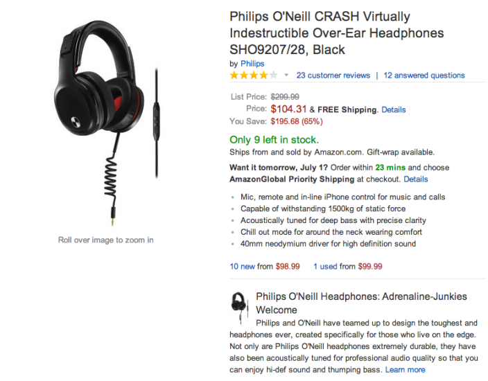 Philips O'Neill CRASH %22Virtually Indestructible%22 Over-Ear Headphones-sale-01