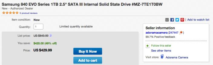 Samsung 840 EVO Series 1TB 2.5%22 SATA III Internal Solid State Drive-sale-01