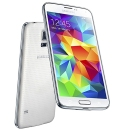 Samsung Galaxy S5 Unlocked (GSM Only) 3G Edition w: White Finish, 5.1%22 Full HD LCD, 16MP Cam & Android KitKat