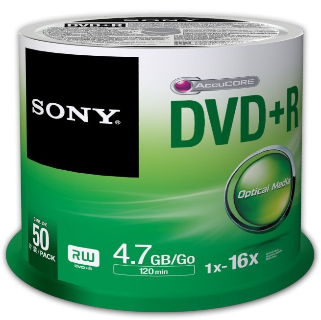 Sony 50DPR47SP 16x DVD+R 4.7GB Recordable...  Sony 50DPR47SP 16x DVD+R 4.7GB Recordable