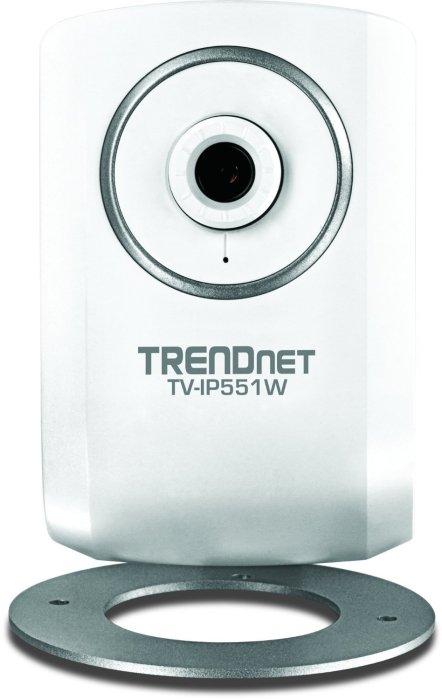 TRENDnet TV-IP551W 640 x 480 Max ResolutionWireless IP Camera