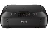 Canon PIXMA MG5520 Inkjet Color All-in-One Photo Printer, Black