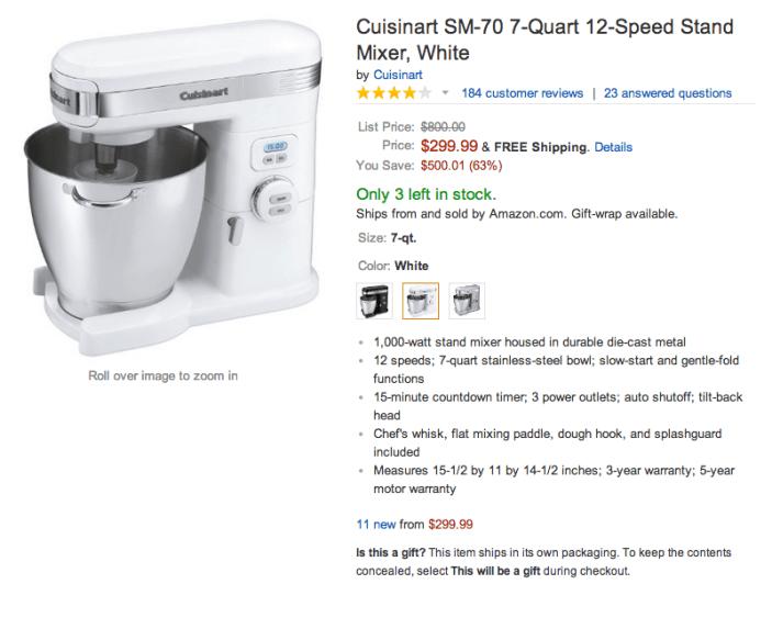 Cuisinart SM-70 7-Quart Stand Mixers-sale-02
