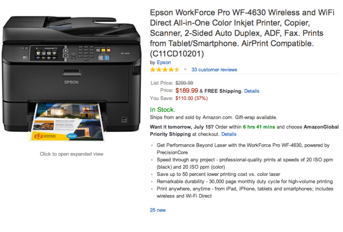 Epson WorkForce Pro WF-4630 wireless All-in-One color inkjet printer-C11CD10201-sale-02