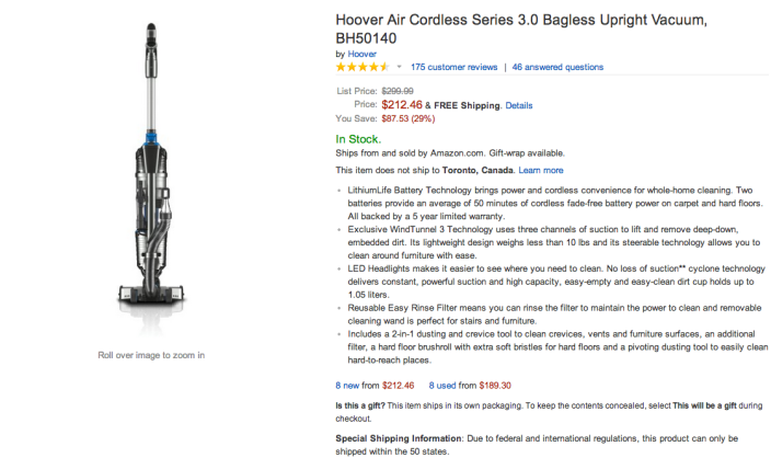 Hoover Air Cordless Series 3.0 Bagless Upright Vacuum-sale-03