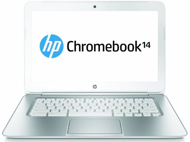 HP Refurbished 14%22 14-q029wm Chromebook PC with Intel Celeron 2955U Processor, 4GB Memory, 16GB SSD and Chrome OS. Included 4G Mobile Internet Service (200MB:month) (Available in multiple colors)