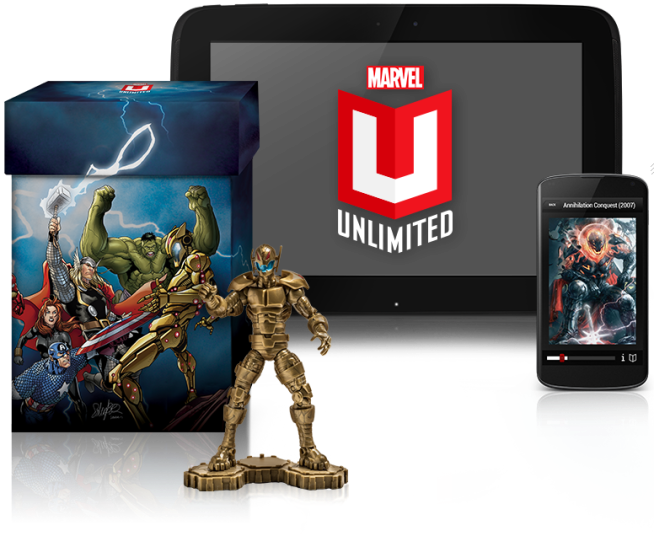INSTANT ACCESS TO OVER 13,000 COMICS Marvel Unlimited