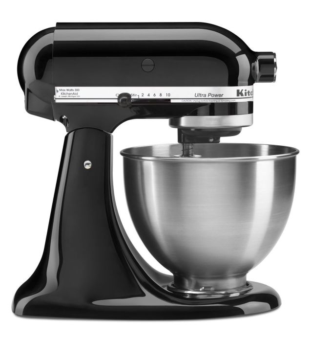 KitchenAid® 4.5-qt. Tilt-Head Onyx Black Stand Mixer