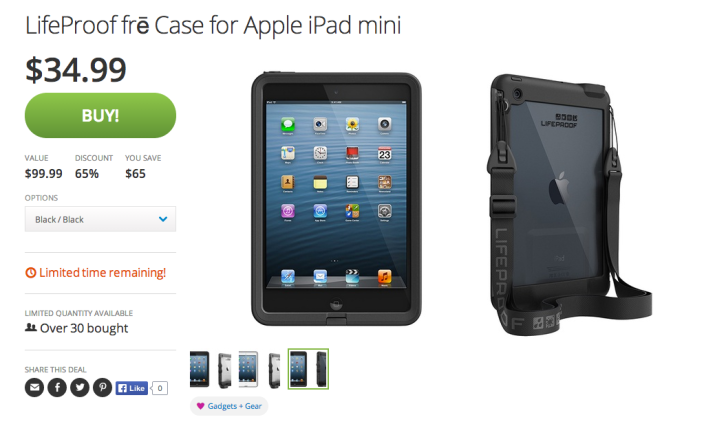 LifeProof frē Case for iPad mini-sale-Groupon-03