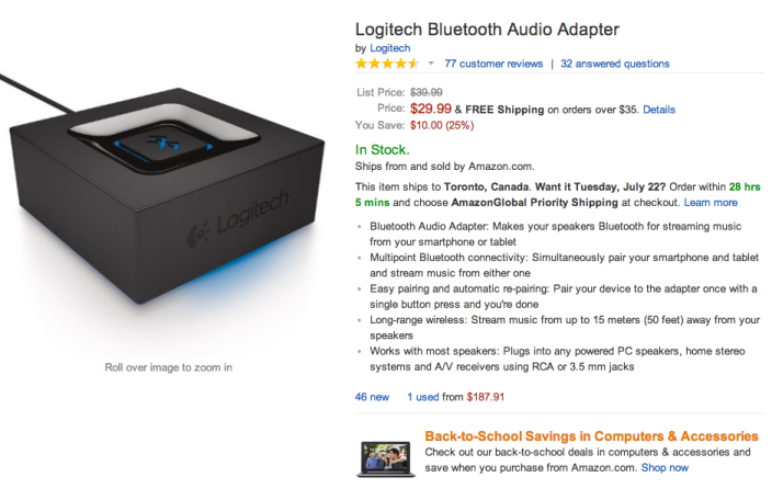 Logitech Bluetooth Audio Adapter-sale-Best Buy-Amazon-sale-01