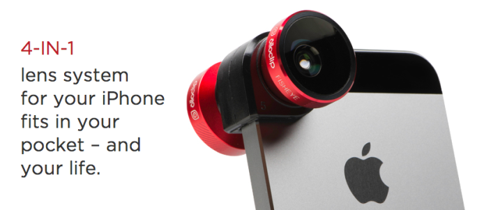 Olloclip Camera Lens in red & black-sale-01