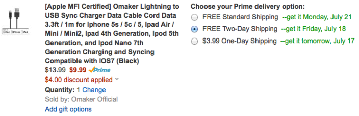omaker-lightning-cable-deal-amazon-coupon