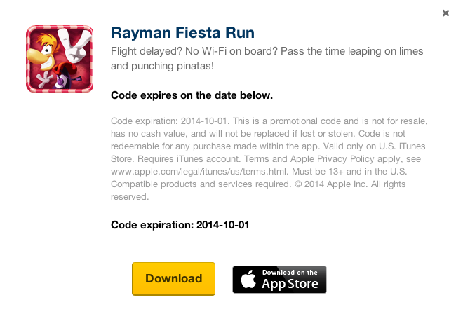 Rayman Fiesta Run-sale-FREE-01