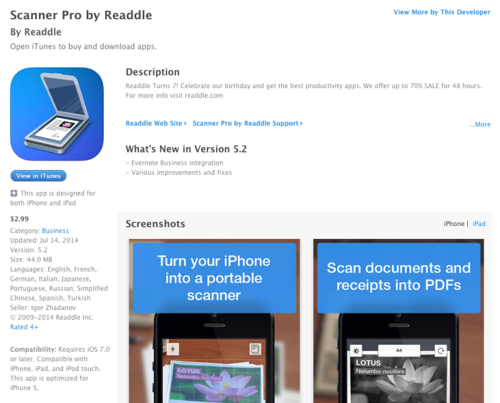 readdle-scanner-pro-app-sale