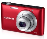 Samsung EC-ST72ZZBPRUS 16.2MP Digital Camera with 5x Optical Zoom, 3.0%22 Intelligent LCD, 720p HD Video - Red
