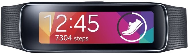 Samsung Gear Fit Wearable Electronics