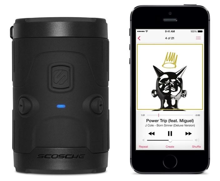 Scosche boomBOTTLE H2O Wireless Waterproof Speake-black-Apple retail-01