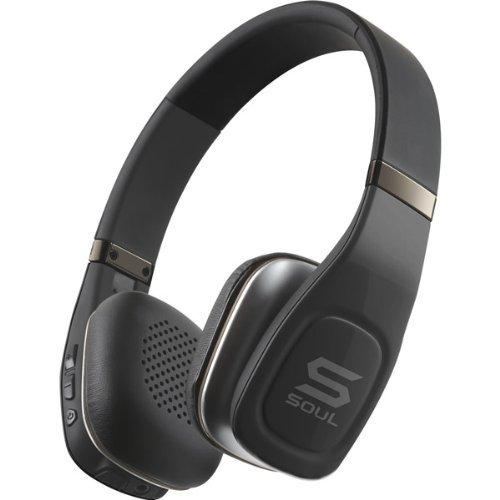 SOUL Volt Bluetooth 4.0 Pro Hi-Definition On-Ear Wireless Headphones w/dual Mics – Black: $23 shipped (85% off)